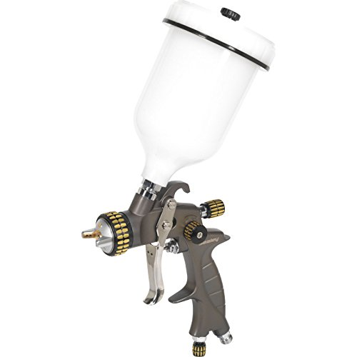 Sealey HVLP01 HVLP Gravity Feed Spray Gun Set-Up, 1.4 mm