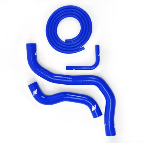 Mishimoto MMHOSE-3G-00BL Blue Silicone Radiator Hose Kit for Mitsubishi Eclipse V6 (Mitsubishi Eclipse Radiator Parts compare prices)
