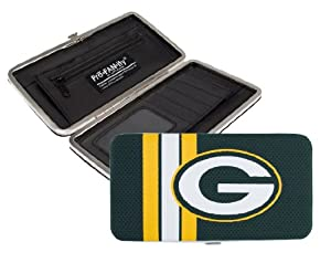 NFL Green Bay Packers Shell Mesh Wallet by Littlearth