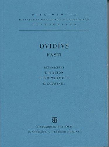 Ovidi Nasonis Fastorum libri sex (German Edition)