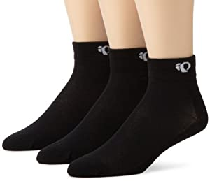 Pearl iZUMi Attack Sock 3-Pack,Black,Large
