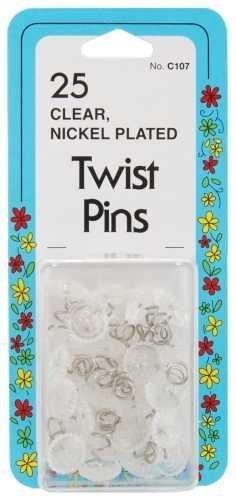 Twist Pins 25/Pkg