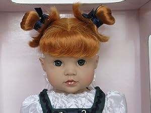"""Gotz 17"""" Collectible Around the World Bavarian Girl Doll by Hildegard Gunzel by Gotz"""