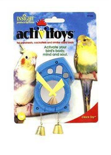 Cheap JW Pet Company Activitoys Clock Bird Toy (M09149)