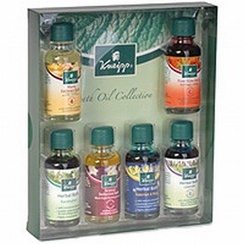 Kneipp Set of 6 Bath Oil Collection