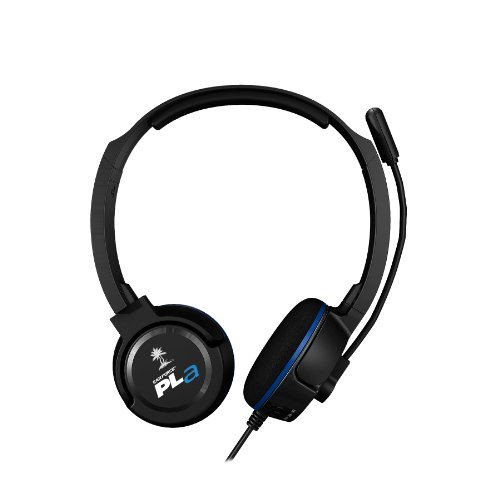 Turtle Beach Ear Force PLa Gaming Headset - Playstation 3 turtle beach ear force cod mw3 foxtrot blk universal wired gaming headset for playstation 3