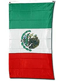 Mexico National Flag 3 x 5 NEW Mexican 3x5 Banner