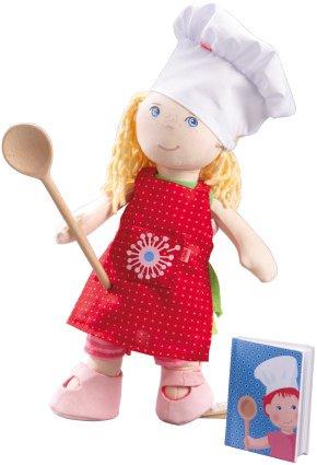 Accessoires pour poupées Haba 34 cm - Ensemble de cuisinier en chef