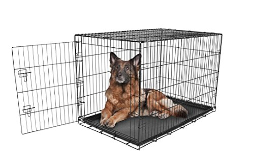 Carlson Secure And Compact Single Door Metal Dog Crate, Extra Large front-8935
