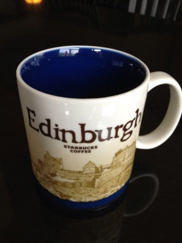 Starbucks Edinburgh- (Uk) 16Oz Global Icon City Coffee-Tea Mug