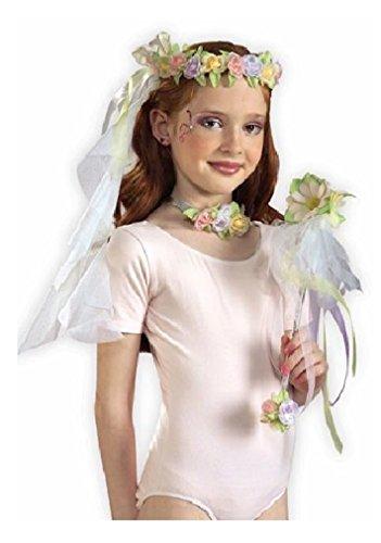 Flower Wand,Choker and Headband Set - 1