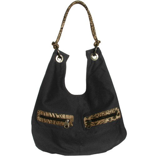 Roxy Carolina Black Juniors Shoulder Bag