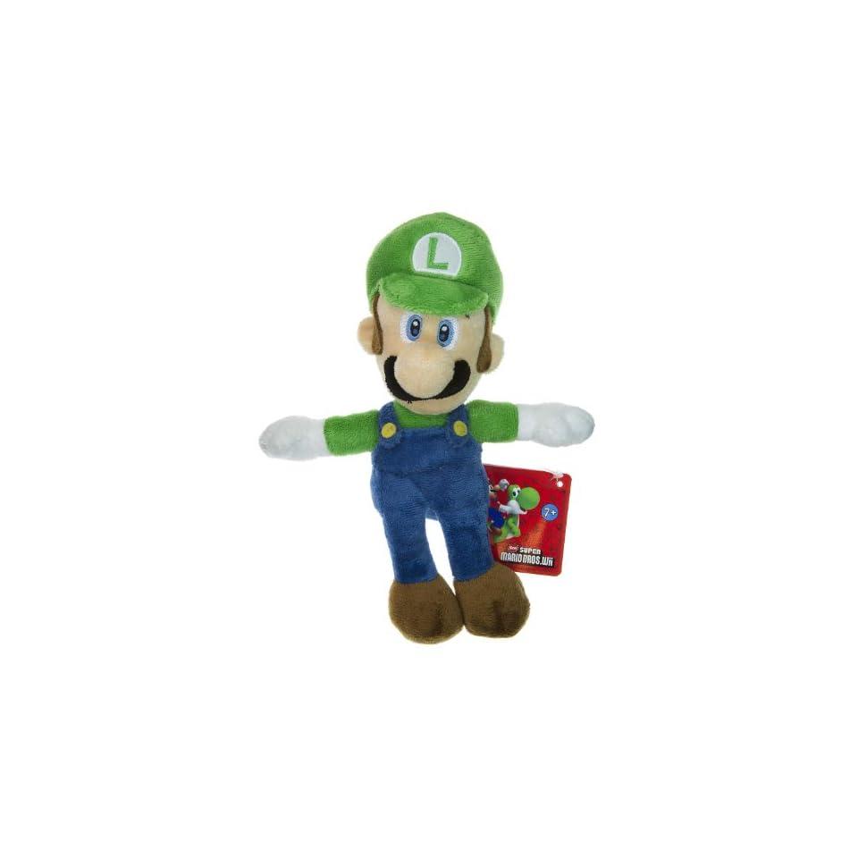 Luigi ~8.25 Plush   New Super Mario Bros Wii Plush Series