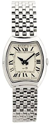 Bedat & Co. Women's 304.011.100 No.3 Silver Bracelet Watch