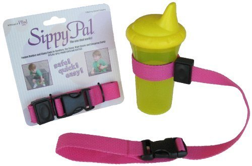 PBnJ Baby SippyPal Cup Holder PinkB001D1X0ES