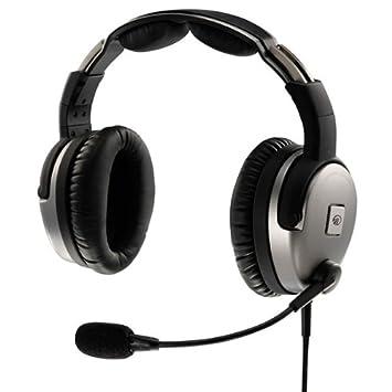 Lightspeed Zulu PFX ANR Aviation Headset Dual GA