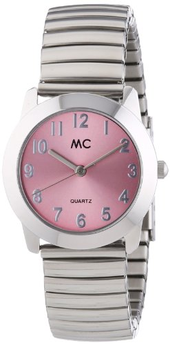 MC Timetrend Damen-Armbanduhr Analog Quarz Flexband 17887