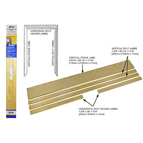 Johnson Hardware Universal Pocket Door Jamb Kit 15113068 (Johnson Pocket Door Frame compare prices)