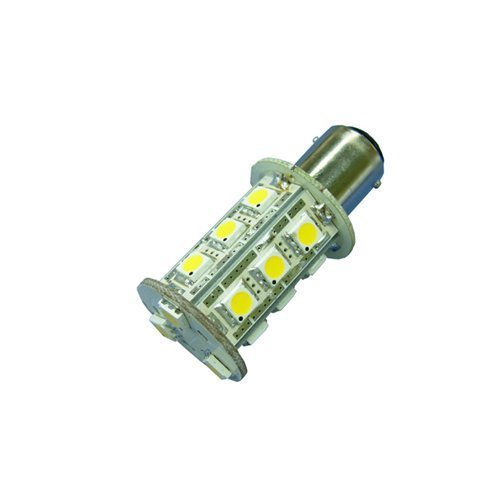Ledwholesalers Navigation And Anchor Light Dual Contact Ba15D 18Led Surface Mount Cluster, 1420Wh