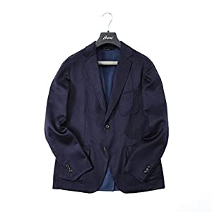 Brioni テーラードジャケット シングル2B/ウール カシミヤ シルク