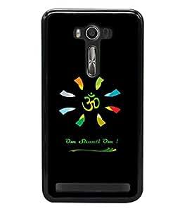 printtech Lord Om Namah Shivaya Back Case Cover for Asus Zenfone 2 Laser ZE500KL , Asus Zenfone 2 Laser ZE500KL (5 Inches)