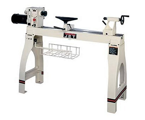 JET 708359 JWL-1642EVS 16-Inch Swing 42-Inch between Centers 1-1/2 Horsepower Electronic Variable Speed Woodworking Lathe,