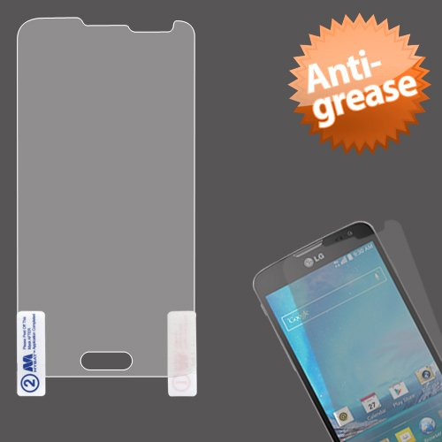 Mybat Lcd Screen Protector For Lg Optimus L90 D415 - Retail Packaging - Clear