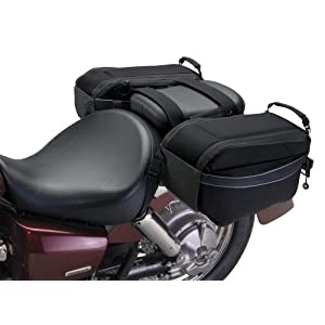 See Motogear Motorcycle Saddle Bags Full size and View details
