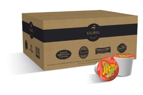 Buy Coffee People Jet Fuel K-Cup Portion Pack for Keurig K-Cup Brewers (Pack of 50) Deals