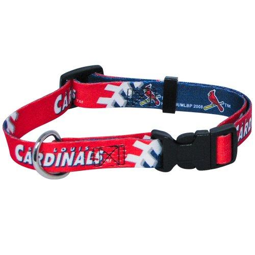 hunter-mfg-st-louis-cardinals-dog-collar-large-by-mlb
