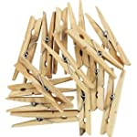 SupaHome Wooden Clothes Pegs Pack Of...
