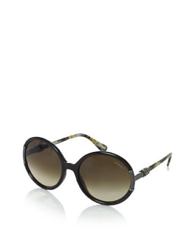 Lanvin Women's Round Frame Sunglasses, Dark Brown, One Size