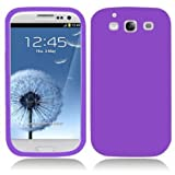 Soft Silicone Skin Case for Samsung Galaxy S3 i9300 (#Purple#)