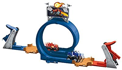 9 X Fisher-Price Nickelodeon Blaze and the Monster Machines Monster Dome Playset by Fisher Price