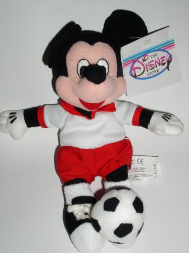 Disneys Soccer Mickey Mouse Bean Bag by Disney - 1