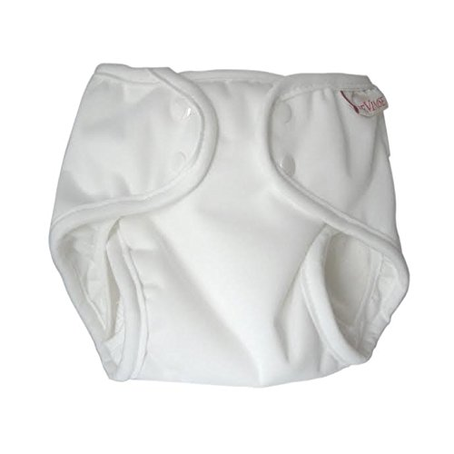 Imse Vimse Soft Cover with SNAPS - White - 11-17 pounds - Small (11-17 pounds - Small)