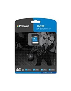 Polaroid SDHC Flash Memory Card by Polaroid Consumer Electronics