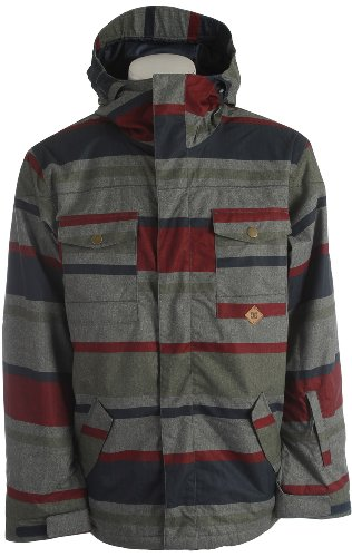 DC Men's Servo 14, Wool Workmans Stripe, Small