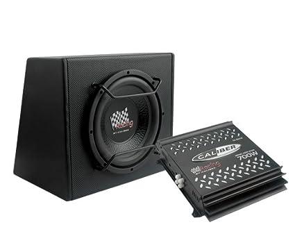 Caliber PACK12P Caisson de basses Noir