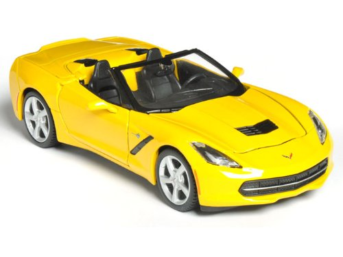 2014 Chevy Corvette Stingray Convertible 1/24 Yellow