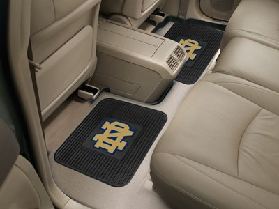Notre Dame Fighting Irish Heavy Duty Utility Rear Car Truck Auto Mats