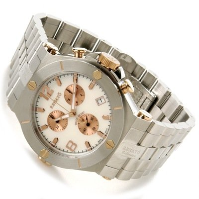 Buy Renato Men's Wilde-Beast Chronograph Stainless Steel Watch