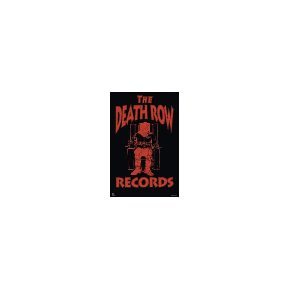 The death row records logo poster 22 5 x 34 8058 home