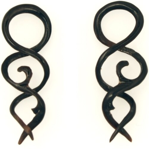 Pair of Horn Helix: 14g