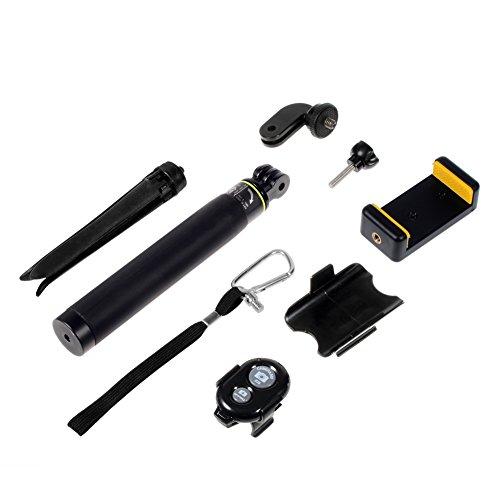 selfie stick extendable wireless bluetooth selfie stick monopod tripod for iphone 6 6s 7 plus. Black Bedroom Furniture Sets. Home Design Ideas