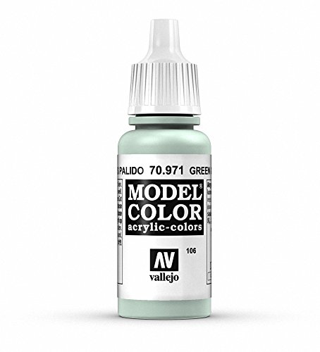 Vallejo Green Grey Model Color 2 Paint, 17ml