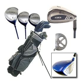 Confidence Golf Visa Golf Club Set w/Stand Bag