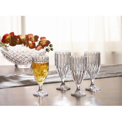 Crystal Clear Alexandria Iced Tea Glass, Set Of 4