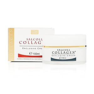 Anti Aging Collagen Face Cream, 100% Natural, Recommended by Dermatologist, Made in France, 3.38oz / 100ml