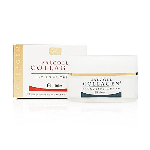 SALCOLL COLLAGEN Pure Collagen Cream - 100% Natural Anti-Aging Face Cream with Marine Collagen, Elastin & Essential Proteins - Anti-Wrinkle Cream to Repair, Restore, Rebuild & Rejuvenate Skin - 100 ml (Shea Yogurt Hair compare prices)